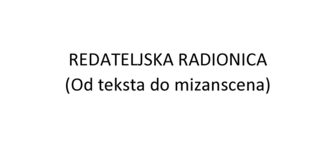 Redateljska radionica - web